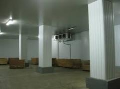 Услуги по хранению замороженной продукции в морозильных камерах при температуре до - 24 с.