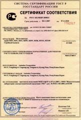 Сертифікація  в системі ГОСТ Р