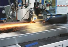 Grinding of metal products round