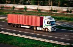 Automobile international piggy-back freighting