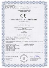 Сертификация услуг, продуктов питания, строительной и медицинской техники по всей Украине.