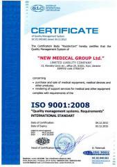 The international ISO 9001 standard,