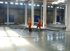 Улаштування промислової підлоги