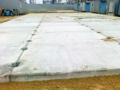 Строительство дорог, площадок, зданий