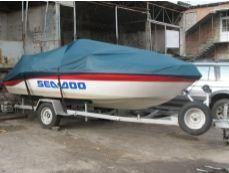 Production of awnings for boats