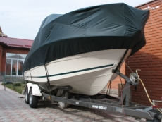 Tailoring of awnings for boats