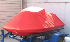 Tailoring of a protective awning for a hydrocycle