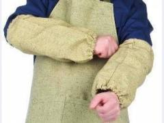 Tailoring of aprons for welding works from