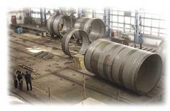 Production of titanic heat exchangers