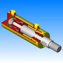 Изготовление гидроцилиндров размерами (Германия): Ø от 63мм до 450мм ℓ от 250мм до 12000мм