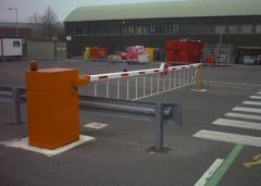 Installation of barriers