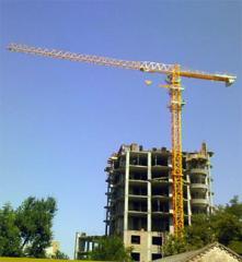 Монтаж и демонтаж башенных кранов