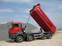 Гидравлика для самосвала(тягача,грузовика)