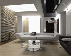 Stylish design of the house. Design of an interior
