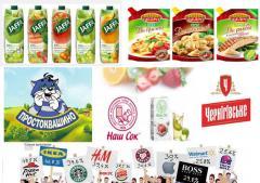 Разработка бренда для товара или продукта.