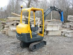 Rent of the excavator