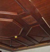 Внутренняя отделка потолока