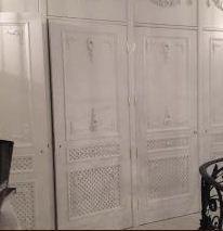 Внутренняя отделка встроенной мебели