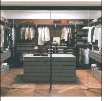 Internal finishing of wardrobe