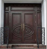 Заполнение проёмов входных дверей, портаолов