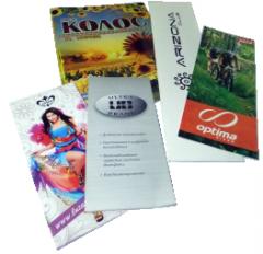 Offset printing flyer, leaflet, booklet, market