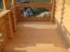 Работы по укладке деревянных полов