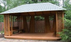 Возведение и изготовление деревянных...