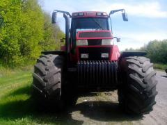 Services of a tractor