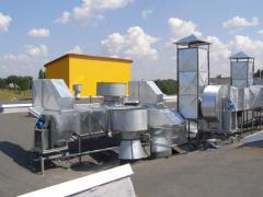 Монтаж и пусконаладка систем вентиляции
