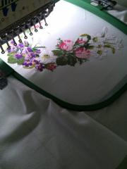 Embroidery cross, production vyshivanok for