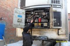 Демонтаж, монтаж холодильно-отопительной техники TERMO KING, CARRIER