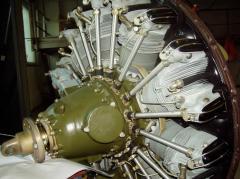 Repair of aviation M-14P engines