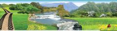 А в Яремче стоит посмотреть на местные водопады,