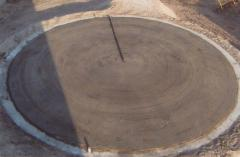 The device of the bases under the reservoirs