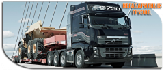 International automobile cargo transportation