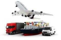 Multimodal transportation of goods