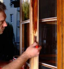 Repair of wooden windows