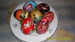 Писанка (расписное яйцо) Донецк
