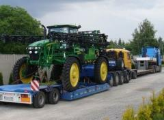 Transportation of harvesters