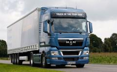 International automobile transportation of not dimension of Ukraine-Russia-CIS-Europe-Asia
