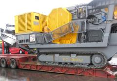 Transportation of crushers