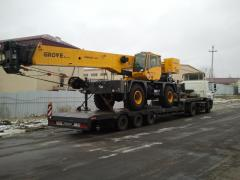 Transportation of the crane international