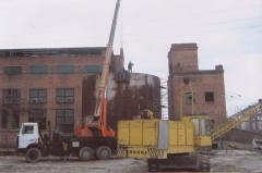 Repair, reconstruction: Warehouses, Shops,