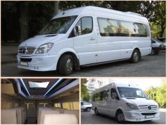 Заказ микроавтобуса на свадьбу Донецк