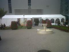 Rent of a tent, hire of a wedding tent.