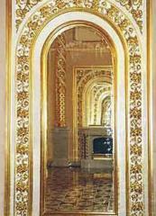 Gilding of church interiors