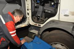 Диагностика и ремонт электронной системы грузовых автомобилей, прицепов и автобусов.