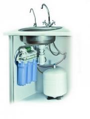 Установка фильтра тонкой очистки воды, Установка