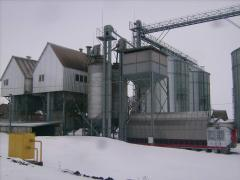 Construction of elevators for storage of grain and