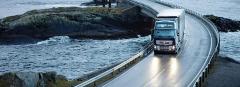 Automobile international transport of loads